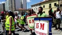 15M Marcha popular indignados hacia Madrid