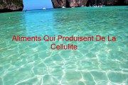 Aliments qui Produisent de la Cellulite | Comment Faire Disparaitre la Cellulite