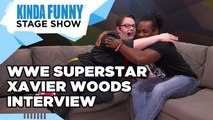 Xavier Woods Talks YouTube and Gaming - Kinda Funny Stage Show E3 2015