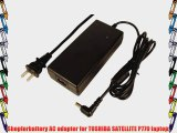 Toshiba Satellite P770 laptop AC adapter power adapter (Replacement) -Volts: 19V Watts: 120W
