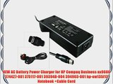 NEW AC Battery Power Charger for HP Compaq Business nx9600 374427-001 375117-001 393948-004
