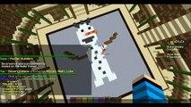 Minecraft Minigame|Master Builders|DERPY SNOWMAN!!!!!!