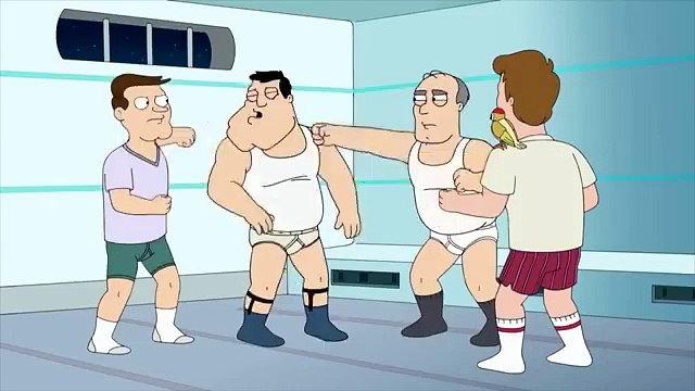 Escape Fight I American Dad I TBS