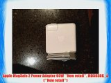 Apple MagSafe 2 Power Adapter 60W **New retail** MD565DK_A (**New retail**)