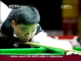 Exclusive interview with  Chinese snooker player Ding Junhui.