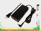 Toshiba Psk2lu-02700C laptop AC adapter power adapter (Replacement) -Volts: 19V Watts: 120W