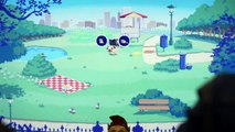 We played a game called Butt Sniffin' Pugs at GDC