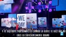 Selena Gomez en We Day Vancouver [SUBTITULOS EN ESPAÑOL]