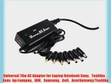 E-top(TM) AC Laptop Power supply ?15V 16V 18V 18.5V 19V 19.5V 20V 22V 24V ?70W Universal charger/adapter?For