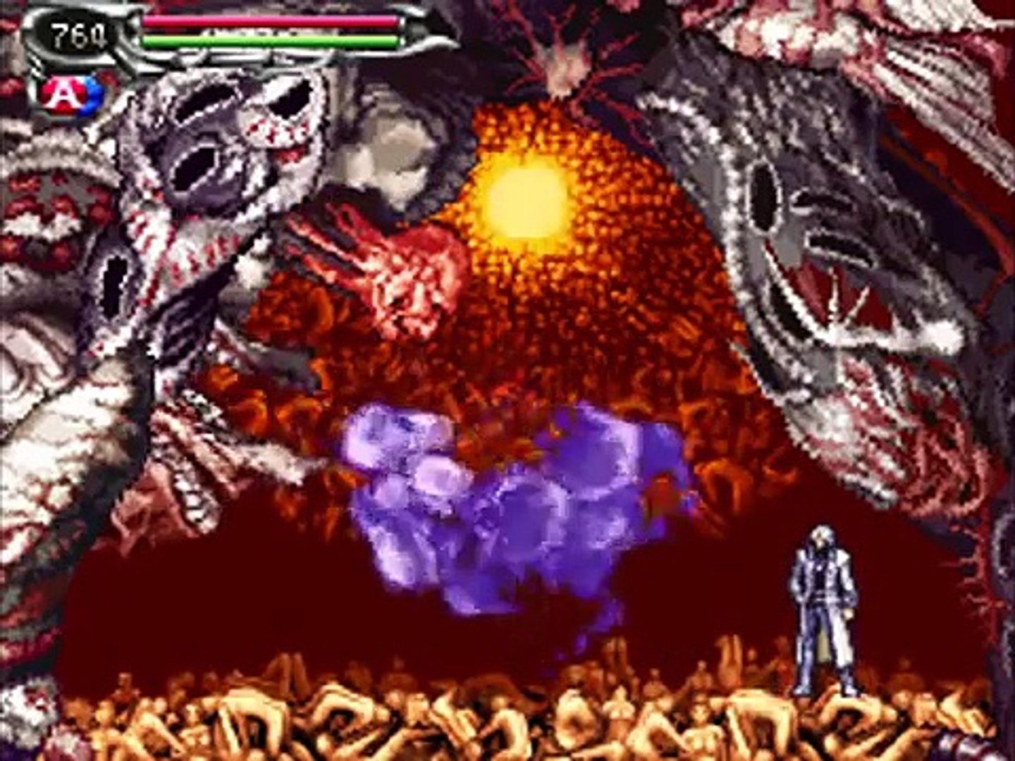 Castlevania Dawn Of Sorrow Final Boss Menace Video Dailymotion