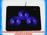 LotFancy? Laptop Cooling Pad Cooler with Triple Fans with Led Light For 13- 17 Laptop Notebook