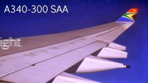 South African Airways Airbus A340-300 [ON-BOARD]