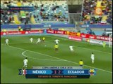 Ecuador 2-1 México: norteños esperan resultados para acceder a cuartos