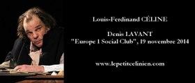 Louis-Ferdinand CÉLINE / Denis LAVANT (2014)