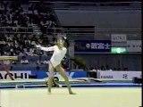 Dominique Moceanu - 1995 Worlds EF - Floor Exercise