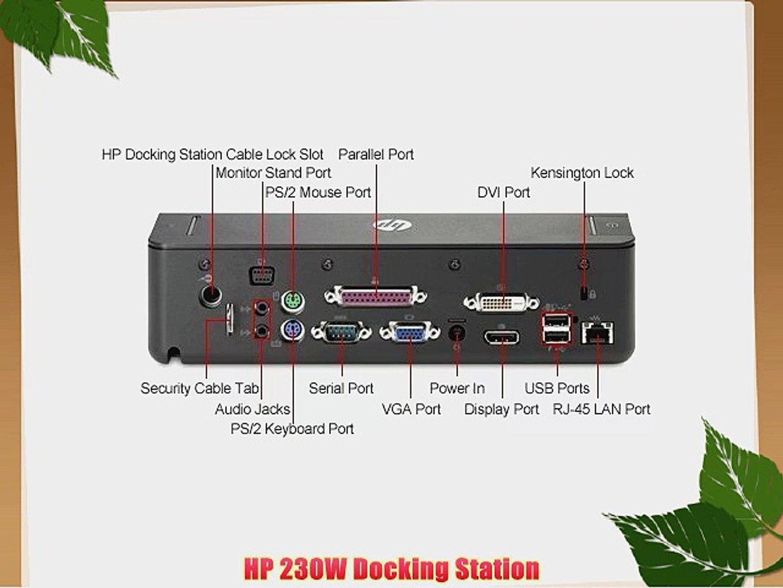 HP 230W Docking Station