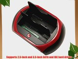 Sourcingbay Usb2.0 Dual HDD Docking IDE Sata ALL in 1 HDD Docking One Touch Backup   HUB