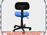 Comfort Serie-- Adjustable Office Chair Ergonomical Office Task Computer Chair with Fabric