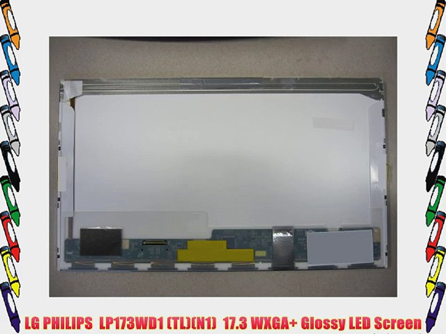 """TL G2 NEW LP173WD1 17.3/"""" WXGA+ laptop LCD SCREEN LED replacement"""