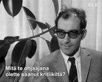 Entretien avec Jean-Luc Godard / Jean-Luc Godardin haastattelu / Interview with Jean-Luc Godard 1965