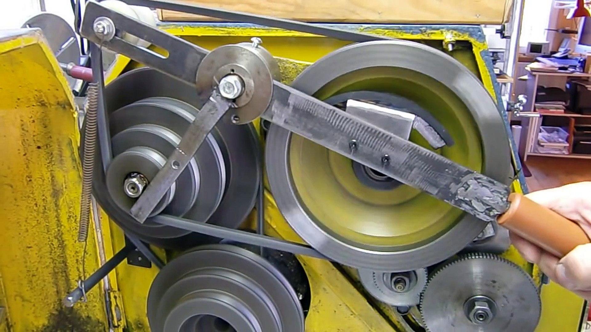 Drehmaschine Bv20 L Spindel Schnellstoppeinrichtung Video