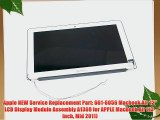 Apple NEW Service Replacement Part: 661-6056 Macbook Air 13 LCD Display Module Assembly A1369