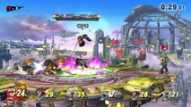 Super Smash Bros For Wii U: Survive 1 Minute Cruel Melee as Luigi