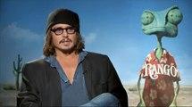 Johnny Depp Interview for RANGO