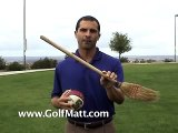 Golf Drills Free Golf lessons for kids swing like Tiger Woods from Golf Matt
