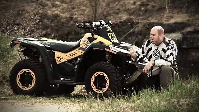 2011 Can-Am Outlander Xxc GNCC Test Ride
