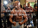 Watching Rances Barthelemy vs Antonio DeMarco Fighting live boxing match