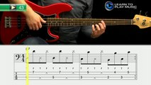 Ex043 How to Play Bass Guitar   Slap Bass Guitar Lessons for Beginners