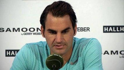 Federer zmienił nastawienie do gry na trawie