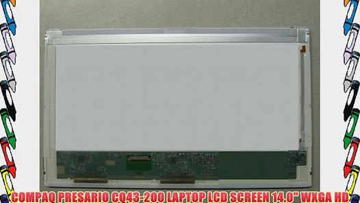 Compaq Presario F700 Replacement LAPTOP LCD Screen 15.4 WXGA CCFL SINGLE Substitute Replacement LCD Screen Only. Not a Laptop