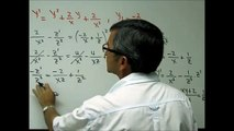 Ecuaciones Diferenciales: Ecuación diferencial de Ricatti. Por Nekagra