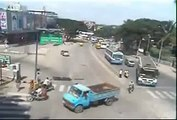 Real road accidents in India Funny videos, funny accidents, amazing videos - Video Dailymotion