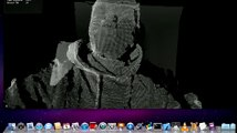 Kinect+Processing: Simple Point Cloud - video dailymotion