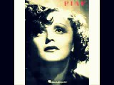 Edith Piaf. La Vie En Rose. Lyrics French - English