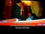 FANTASMA PRENDE UNA VELA EN UN REPORTAJE DE ESPAÑA EN DIRECTO, QUIQUE MORALES