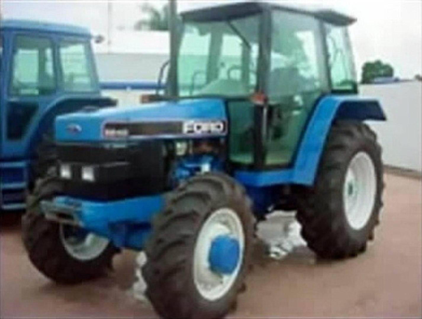 Automobilia I&T Tractor Workshop Manual Ford Diesel Models 5640 ...