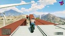SALTOS MORTALES  GTA 5 GAMEPLAY online - Carreras Epicas-Divertidas GTAV XBOX360&PS3 - NinyHD