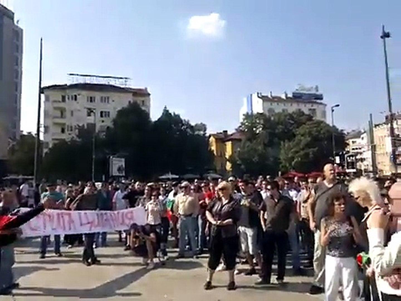 Шествие в София 25.09.2011 за жертвите в Катуница- 2