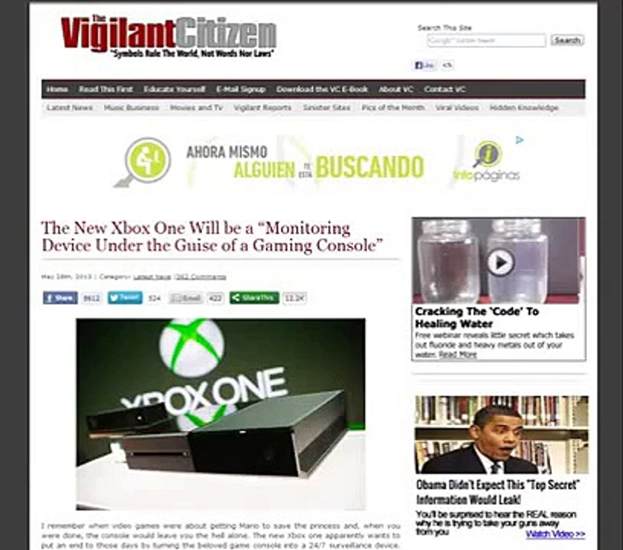 Xbox One And It's Relations With The Illuminati (BIG BROTHER)