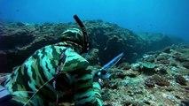 Chasse sous-marine 54 kg géant Carangue Showdown - Top Shots Big Fish Chasse apnée Pesca