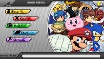 Super Smash Flash 2 (Demo) Mario Vs. Naruto Vs. Goku Vs. Ichigo