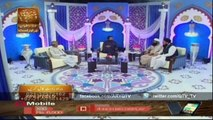 NAIMAT-E-IFTAR (LIVE FROM KHI)Part1 20 June 2015