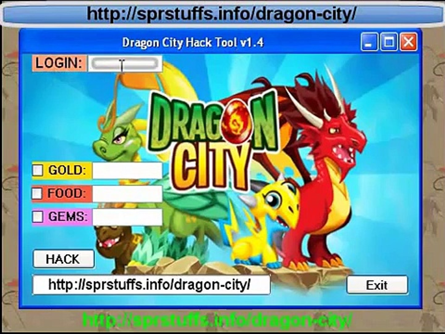 Dragon City Hack Tool Cheats for FB iOS iPhone iPad iPod and Android