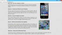 Évasion fiscale UNTETHERED iOS 8.3 Outil Jailbreak pour iPhone 5, iphone 4, iPhone 3GS, iPad3