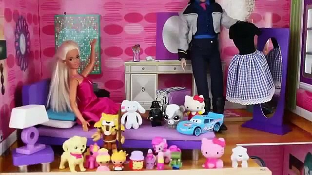 Surprise Eggs Surprise Toys DOLLHOUSE love Shopkins Frozen Elsa Anna