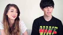 Sam pepper kisses overly attached girlfriend!